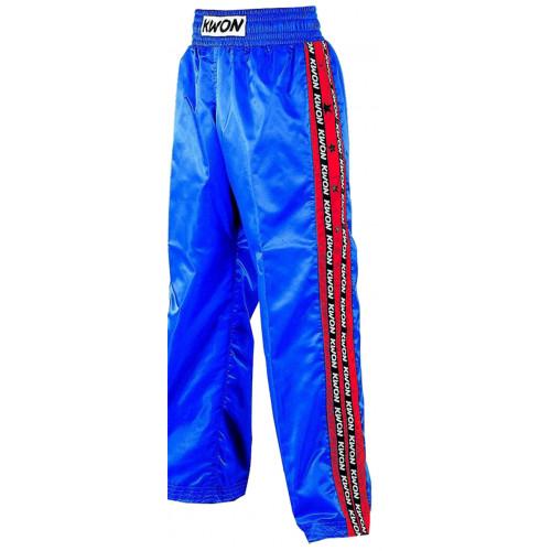 Kickboxhose Satin blau