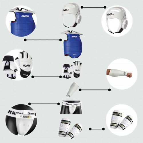 Wettkampfausrüstung  Taekwondo Paket