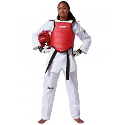 Taekwondo Kampfweste Competition Double WT anerkannt